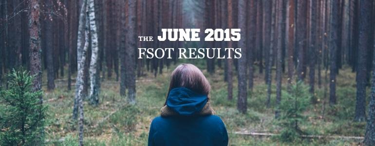 June 2015 FSOT Results